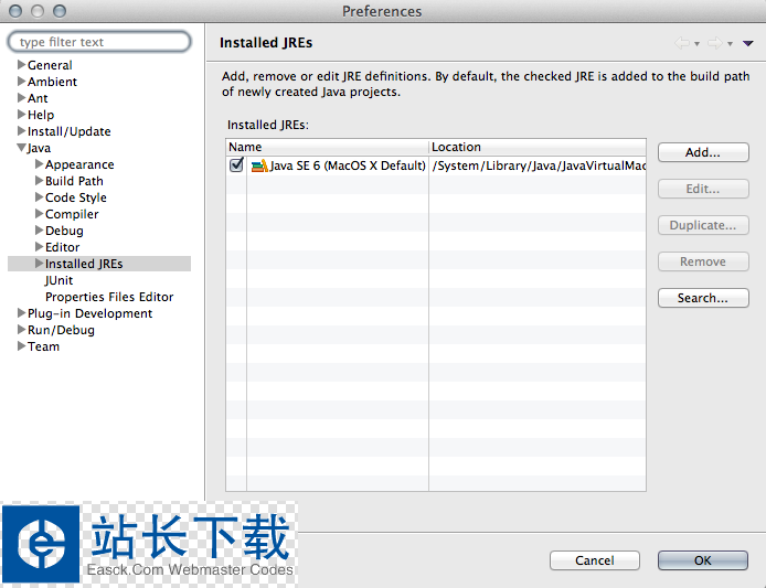 java7 (jre) for mac Update 15 官方版