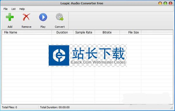 Leapic Audio Converter Free(音频格式转换工具)